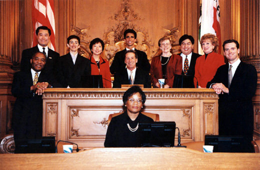 January 8th, 1999 Supervisors Inauguration Photo