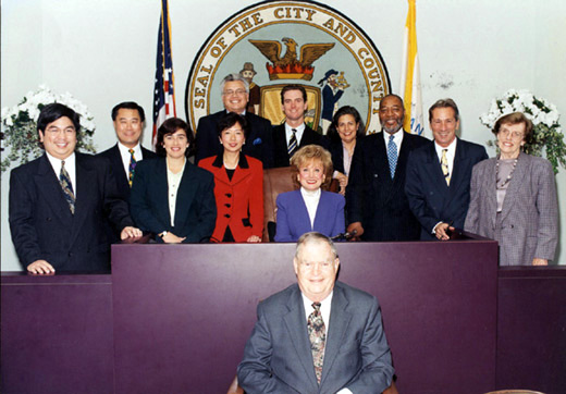 January 8th, 1997 Supervisors Inauguration Photo
