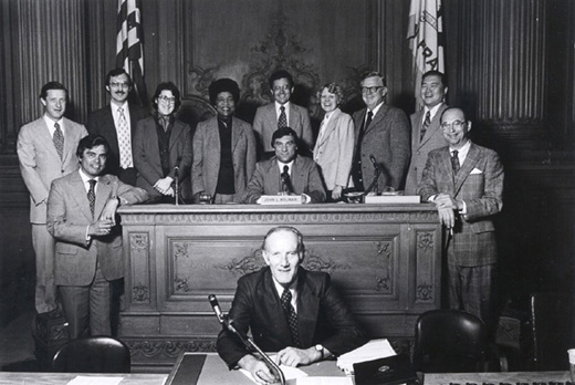 January 8th, 1979 Supervisors Inauguration Photo