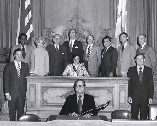 January 8th, 1974 Supervisors Inauguration Photo
