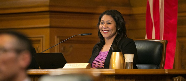 District 05 - President London Breed